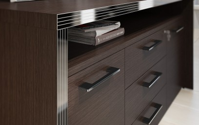Мебель изготовлена с использованием новейших технологий из материалов и комплектующих европейского производства высочайшего качества.