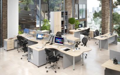 В этой коллекции есть все для создания эргономичных и функциональных рабочих станций, отвечающих современным требованиям качества и высоким эстетическим стандартам.