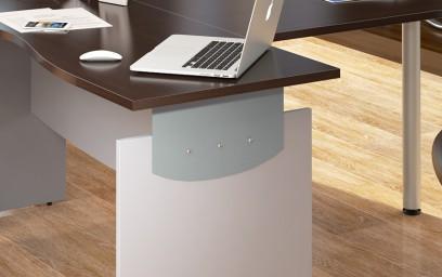 Эргономичность мебели «Оffix» обеспечена рядом талантливых инженерных и дизайнерских решений, проявившихся в многообразии оригинальных форм.