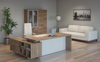 Terra — кабинет со стильным и выразительным дизайном.