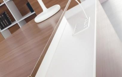 Очертания Вашего стола так же смелы и стремительны, как крыло современного самолета.