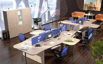 Демократичные цены, по которым предлагается мебель для персонала«X-Ten», доступны даже для небольших компаний.