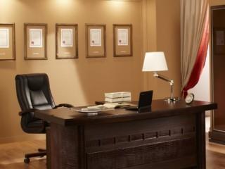 Кабинет руководителя Дуглас относится к кабинету бизнес-класса.